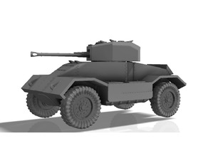 BRITISH ARMORED CAR, MK3, WWII (1:56, ~28mm)