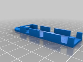 Pixel Strip Clip for Wire side