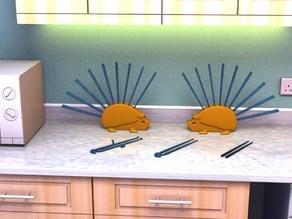 Hedgy the Hedgehog Chopstick Holder