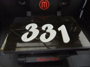 House / Mailbox Numbers
