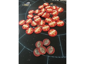 Firefly The Game - Wanted tokens