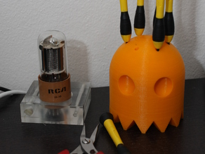 PacMan Ghost Screwdriver Holder