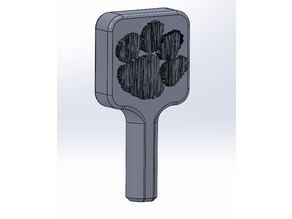 Clemson Paw Tap Handle