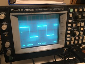 Screen Bezel for Fluke PM33xx CombiScope Oscilloscope
