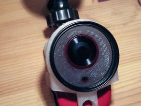 SJ1000 in-car camera polarising filter attachment