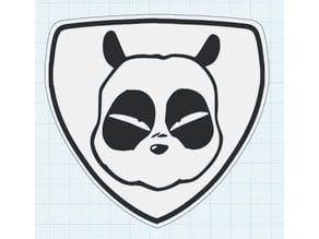 Yamaha Grizzly Panda Emblem