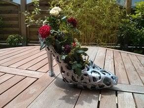 Voronoi Heel Shoe