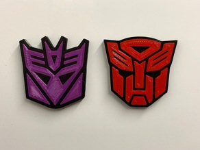 Transformers fridge magnets