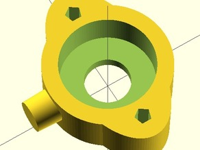 Da Vinci 1.0 Y axis Bearing Holder