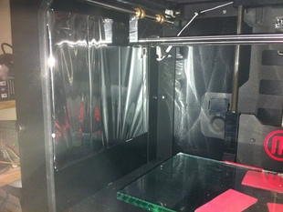 Inexpensive Replicator 2 Side Enclosure.