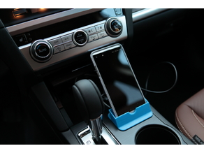Subaru Outback (5th gen) smartphone mount