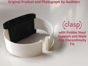 CLASP | Pebble Steel Edition