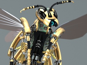 Wasp created in PARTsolutions