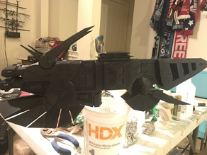 Freelancer Kusari Battleship Printable Sections