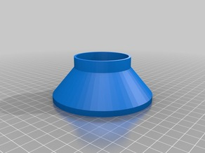 My Customized Funnel (pancake mix) - 95mm opening, 53mm funnel