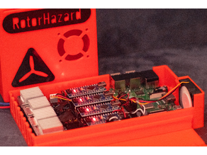 Delta5/Rotorhazard Tracker Case for Pi3B+ and 40mm Fan