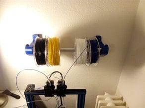 Filament Spool Wall Holder