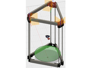 Gemstock Delta Printer (Rosstock Mini - Mini Kossel combination)
