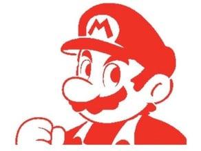 Mario Stencil 2
