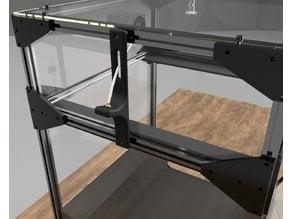 FolgerTech FT-5 Reverse Bowden Mount for 3D Printer Enclosure