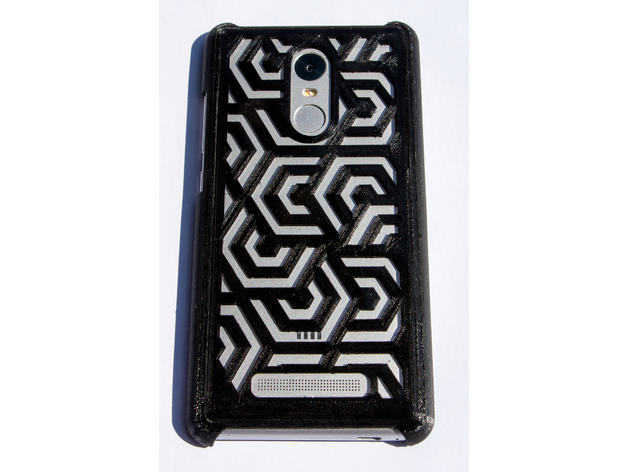 best service 334b8 8dd3b Xiaomi Redmi Note 3 Pro Special Edition (Kate) Case - Geometrical by ...