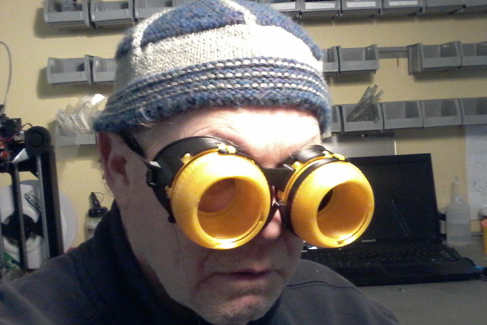 5b37242a9fa2 Blinking Iris Goggles by LoboCNC - Thingiverse