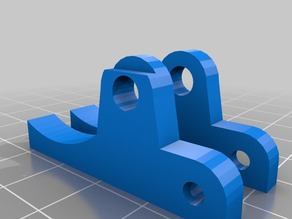 MK5 extruder tension arm remix - cut away version