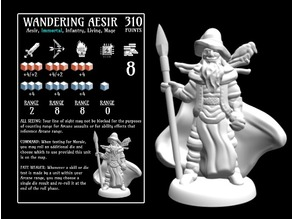 Wandering Aesir (18mm scale)