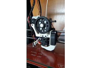 Wade's extrusor mod with side fan duct