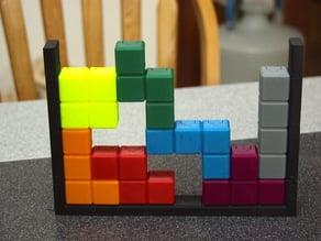 Magnetic Tetris Playset