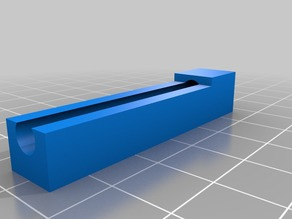 Voron 50 x 5mm axle flat template/vise