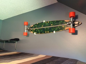 Longboard/ Skateboard Wall Mount