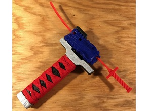 Beyblade Burst - Katana Launcher Handle and Ripcord
