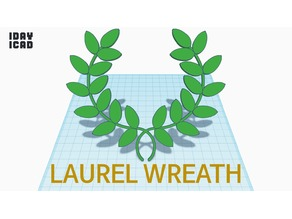 [1DAY_1CAD] LAUREL WREATH