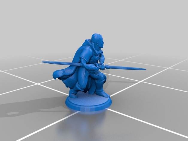 Jedi Knight - Double-Bladed Lightsaber - Generic Models by