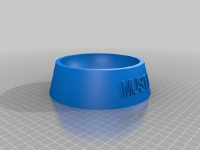 My Customized Fully Parametric Dog / Cat Food Bowl