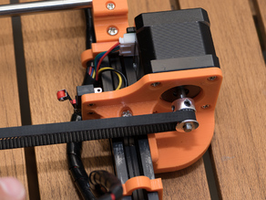 TRONXY X3 Y Stepper Motor Support (with no 2020 extrusion)