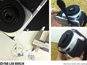 Pentax K-01 Prime Lens Cover