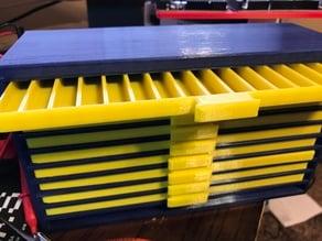 Reinforced Resistor Organizer