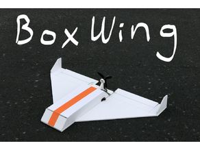 New BoxWing RC Airplane