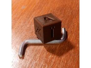 Ukrainian calibration cube