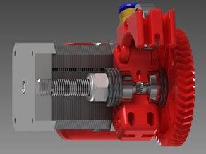 Infill 3D Bowden 75 Geared Extruder