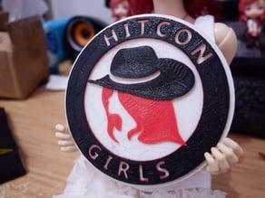 HITCON GIRLS coaster