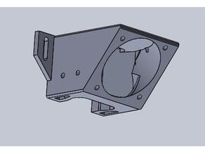tronxy x5sa upgraded fan mount