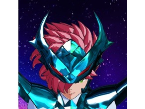 Delta helmet from Saint Seiya Asgard Saga