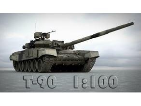 T-90 russian MBT [1:100]