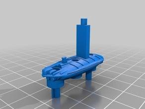 Star Wars Battleship - 3 hole mount