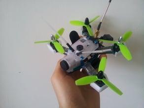 RotorX Atom 122 Runcam Owl canopy