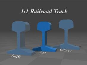 1:1 Railroad Track ( S-54 )