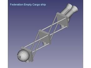 Federation Cargo ships x 3